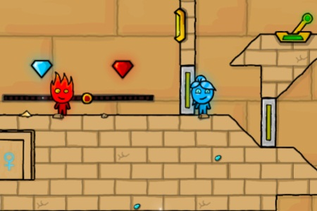 Fireboy and Water Girl in The Light Temple